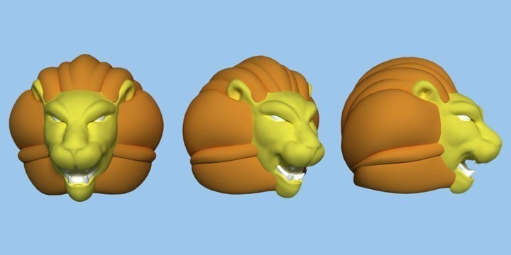 YELLOW LION - DREAMBOX 3D