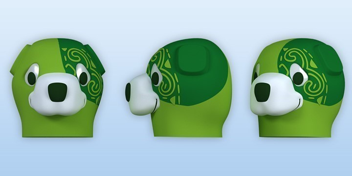 GREEN DOG ASHGABAT SPORTS OLYMPICS 3D
