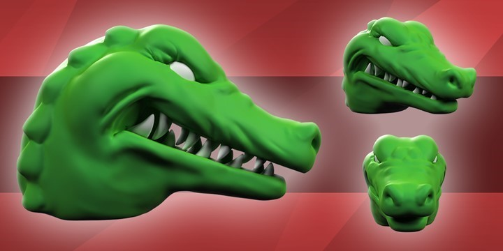 GREEN CROCODILE - DREAMBOX FILMS 3D