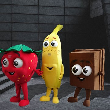STRAWBERRY, BANANA AND CHOCOLATE - İÇİM GIDA 3