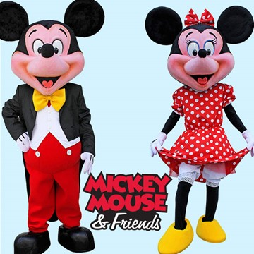 MICKEY VE MINNIE MOUSE 8