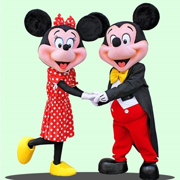 MICKEY VE MINNIE MOUSE 1