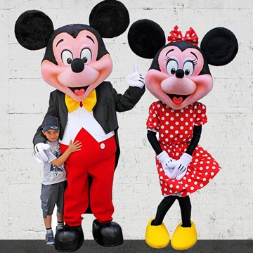 MICKEY VE MINNIE MOUSE 3