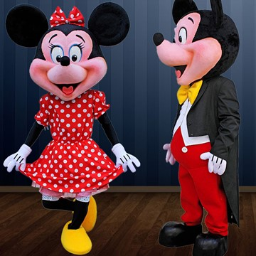 MICKEY VE MINNIE MOUSE 4