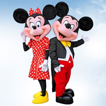 MICKEY VE MINNIE MOUSE 6