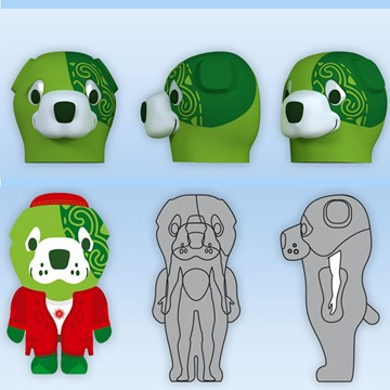 GREEN DOG ASHGABAT SPORTS OLYMPICS 7