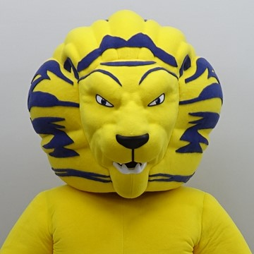 YELLOW LION - DREAMBOX mascot